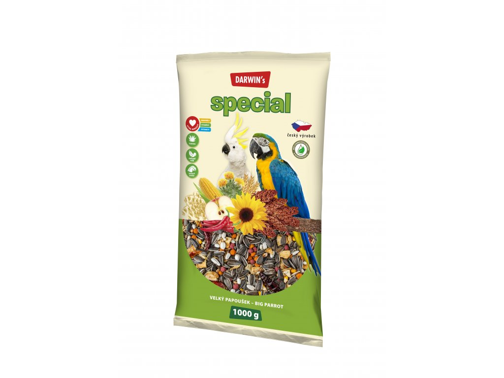 588 darwin s special velky papousek 1kg