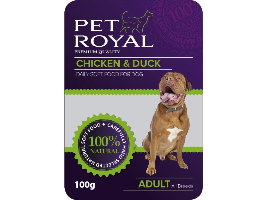 4974 kapsicka pet royal dog kure kachna 100g