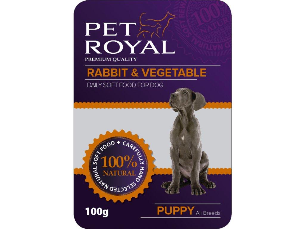 4986 kapsicka pet royal dog kralik zelenina 100g