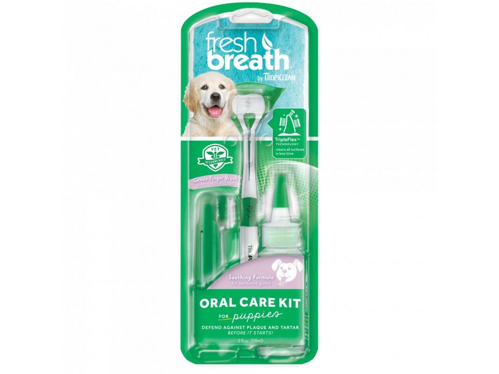 5217 tropiclean set na cisteni zubu fresh breath pro stenata