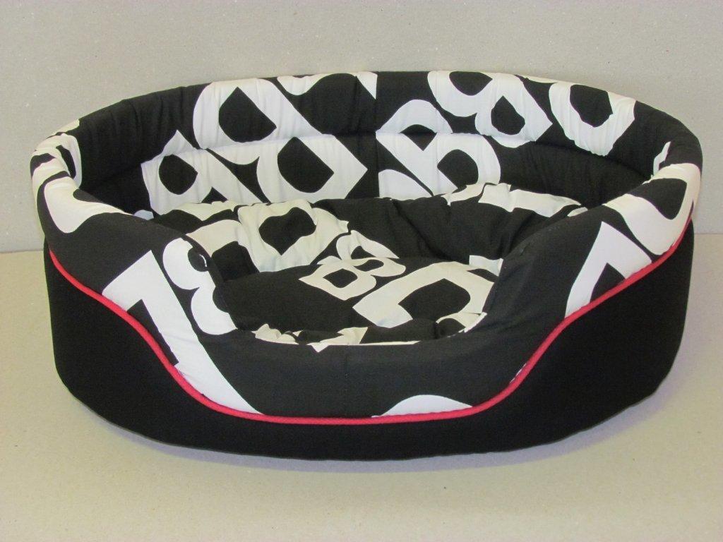 Pelech CDOG 16 čierny + červený kedr 47 cm
