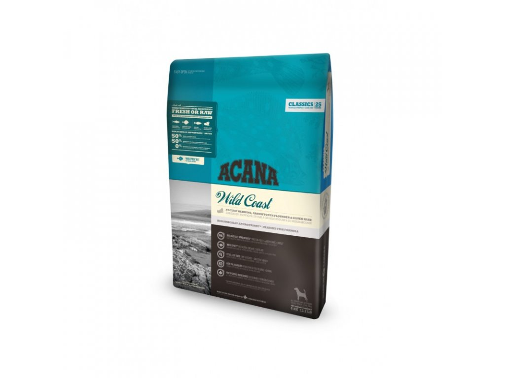 5721 acana classics 25 wild coast 17kg