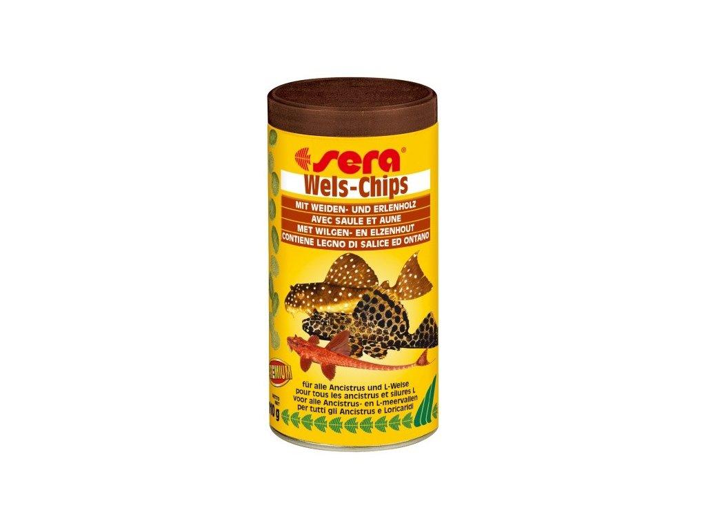 675 sera specialni krmivo pro krunyrovite sumecky wels chips 250ml