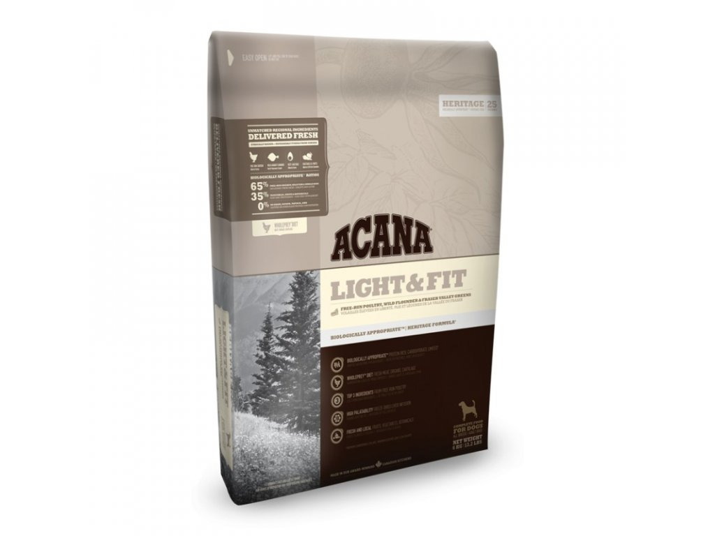 5766 acana heritage class light and fit 2kg