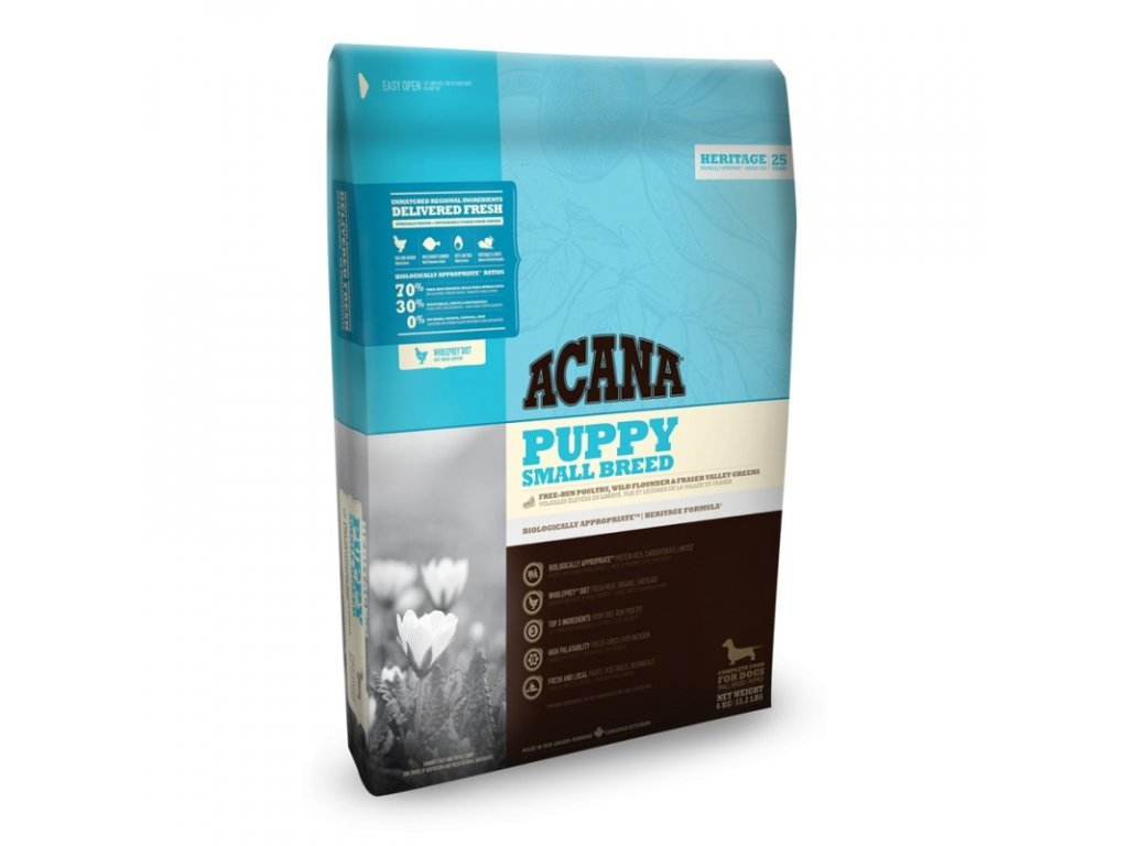 5796 acana heritage class puppy small breed 2kg