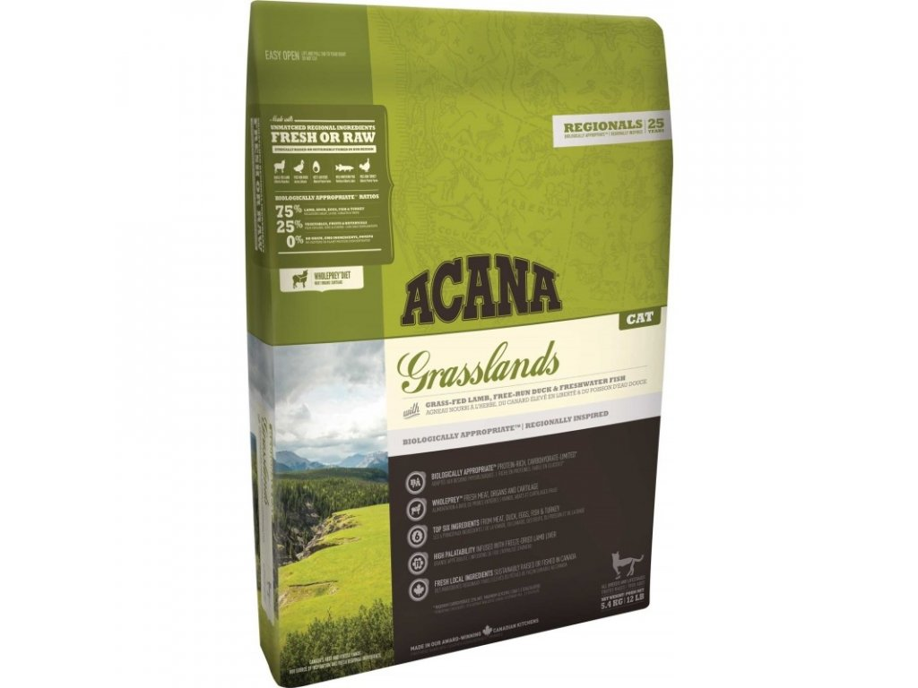 5826 acana regionals grasslands cat 340g