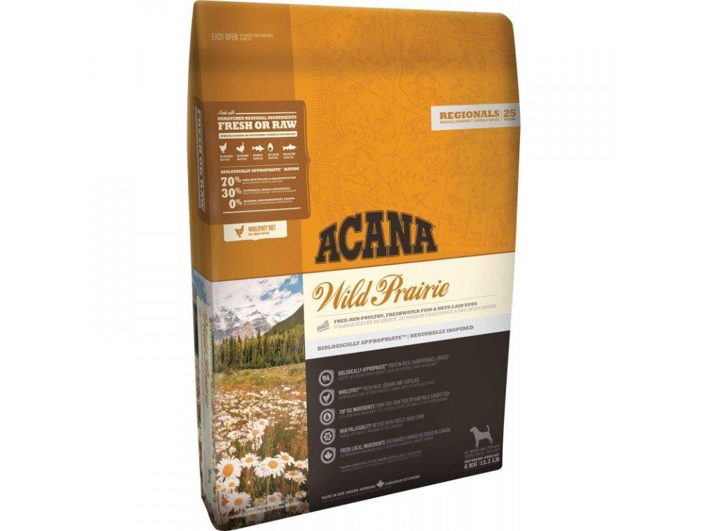 5895 acana regionals wild prairie dog 6kg