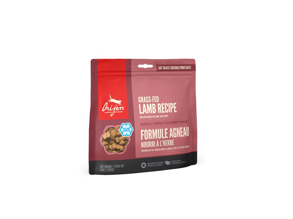 6099 orijen freeze cat snack alberta lamb 35g