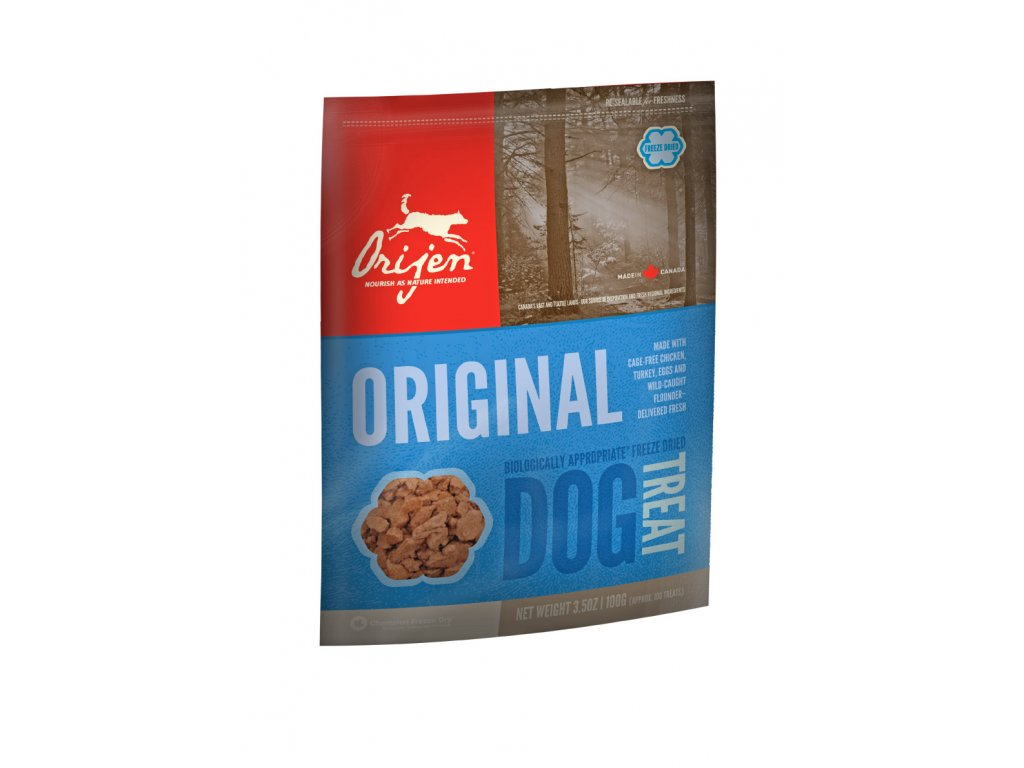 6159 orijen freeze dog snack original 42 5g