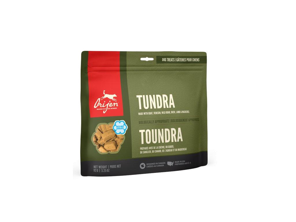6168 orijen freeze dog snack tundra 92g