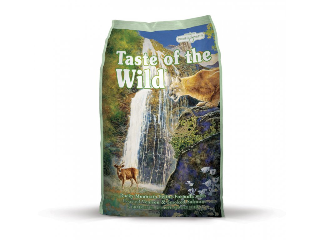 6243 taste of the wild rocky mtn feline 2kg