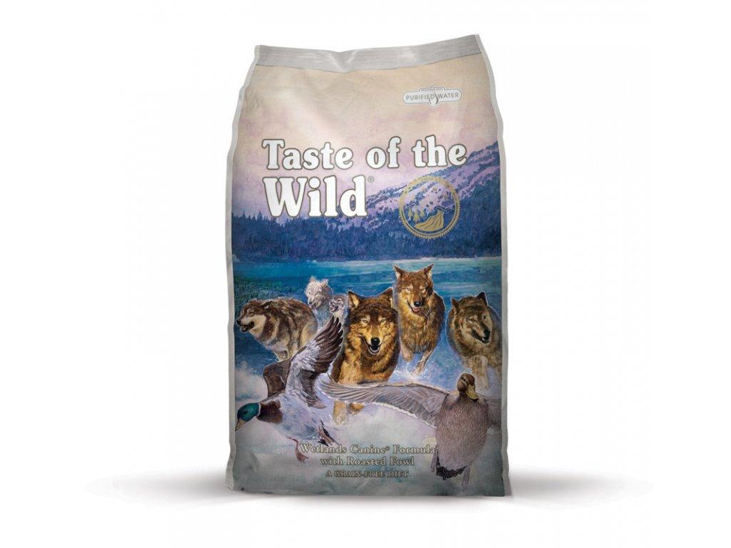 6267 taste of the wild wetlands wild fowl 2kg