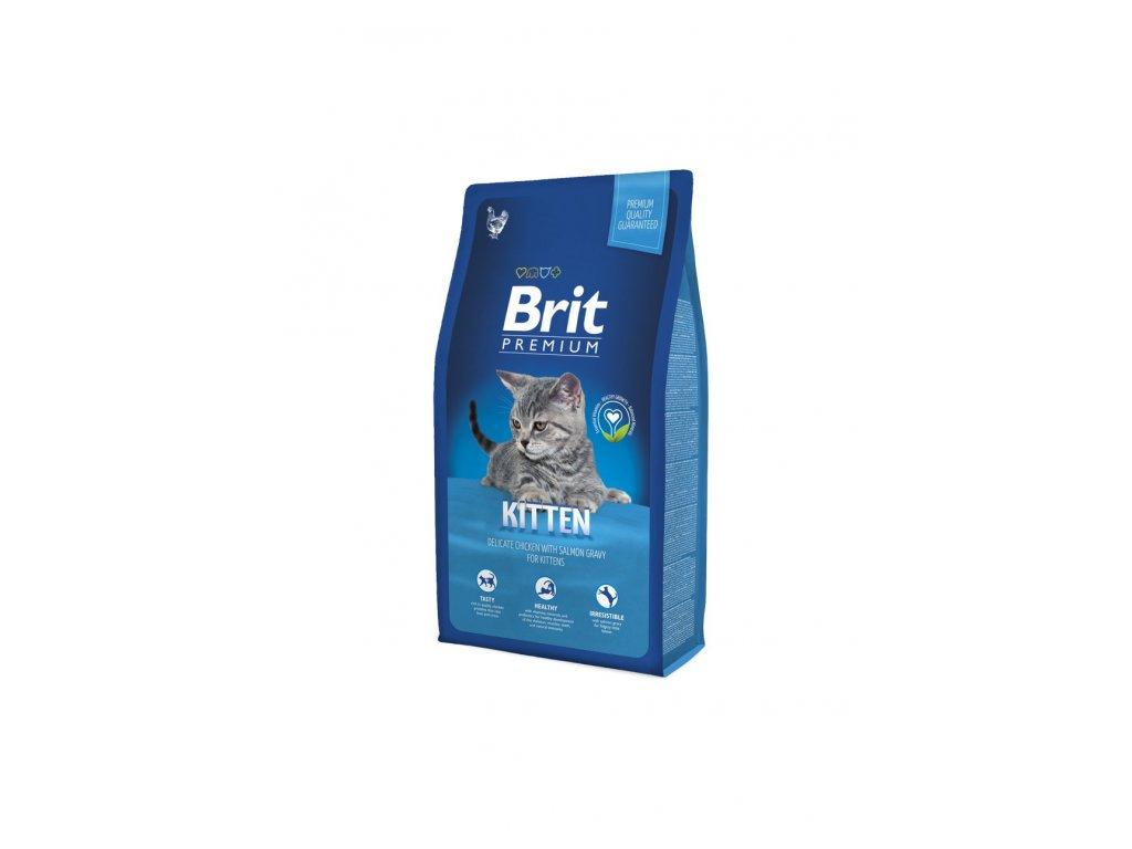 6543 brit premium cat kitten 8kg