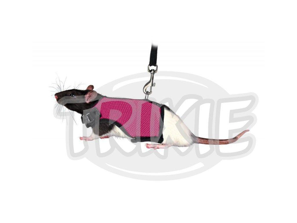 7131 trixie postroj vesta s voditkem pro krysu