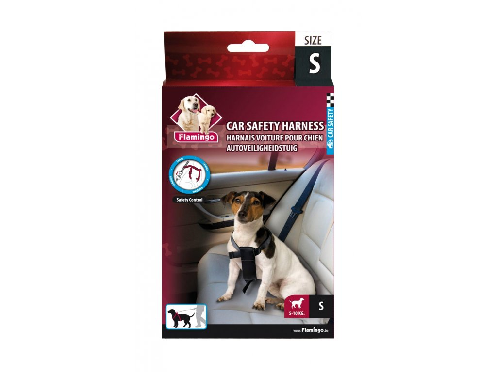 7653 karlie bezpecnostni pas do auta pro psy s
