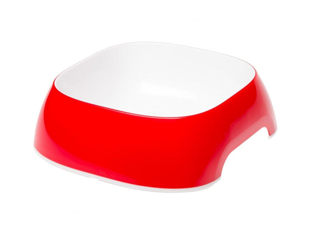 7851 ferplast glam stredni cervena miska
