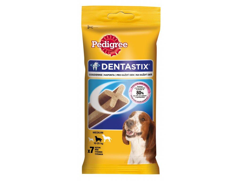 8322 pedigree pochoutky denta stix medium 7pack 180g