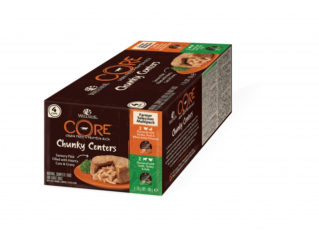 8583 wellness core chunky centers farmer selection multipack