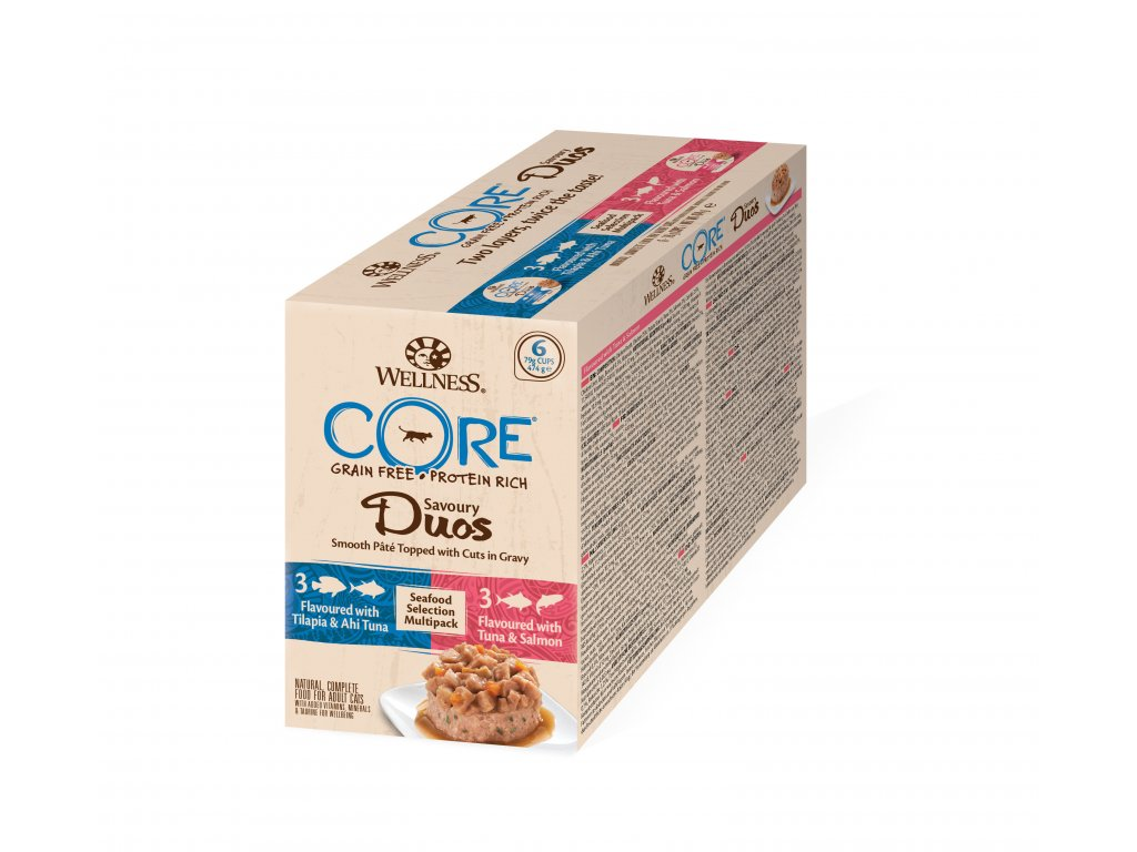 Wellness CORE Savoury Duos Seafood Selection Multipack