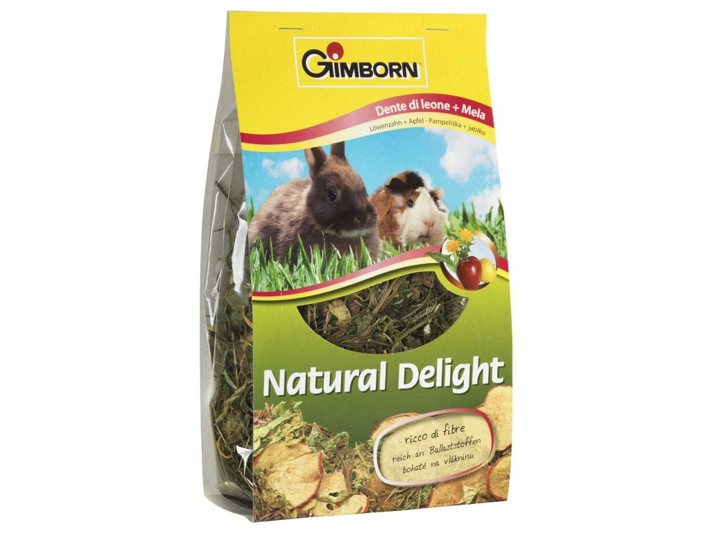 975 gimborn natural delight pampeliska jablka 100g