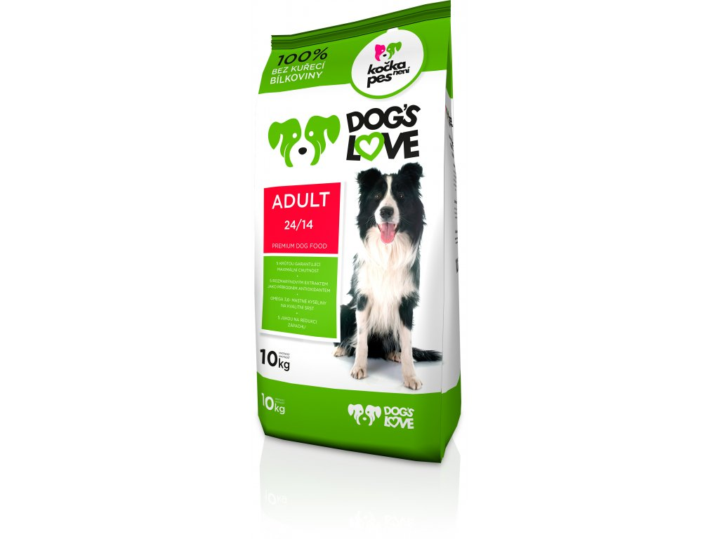 8985 dogs love adult 10kg