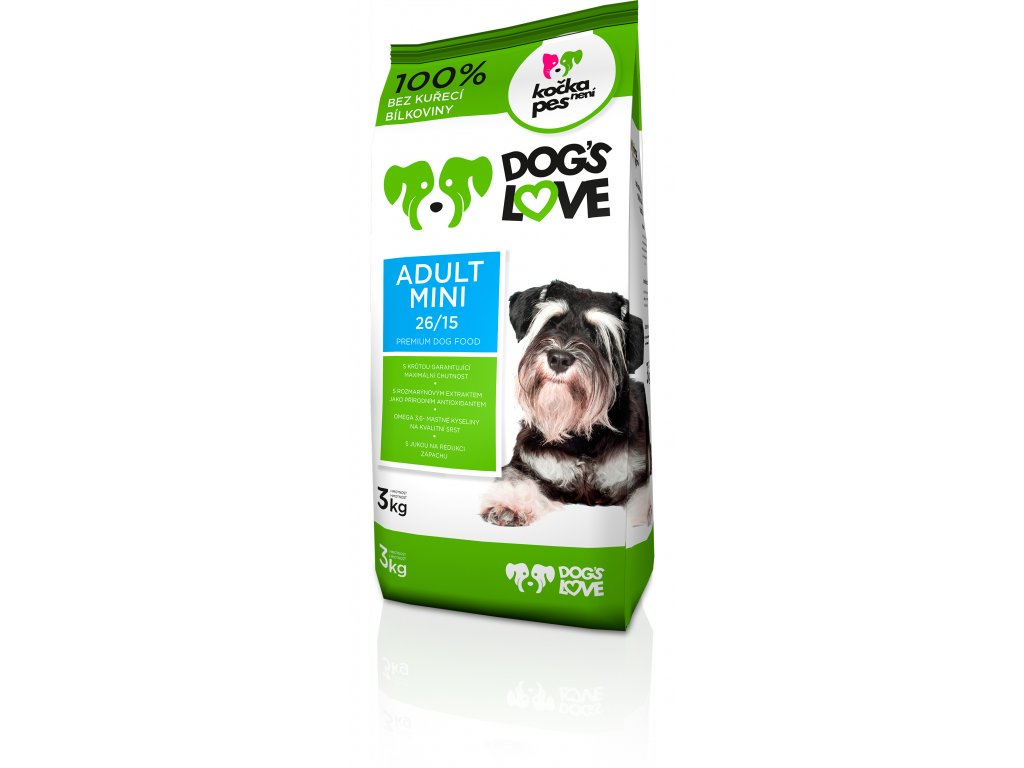 8997 dogs love adult mini 3kg