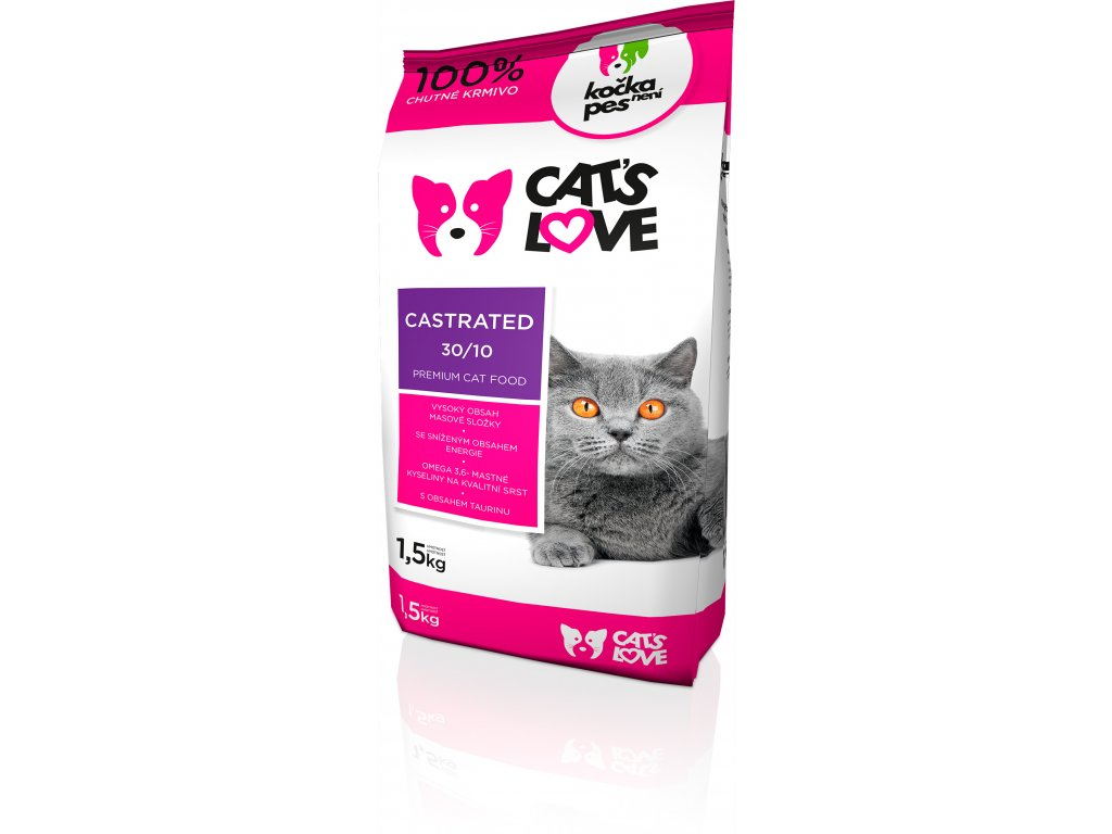 9015 cats love castrated 1 5kg