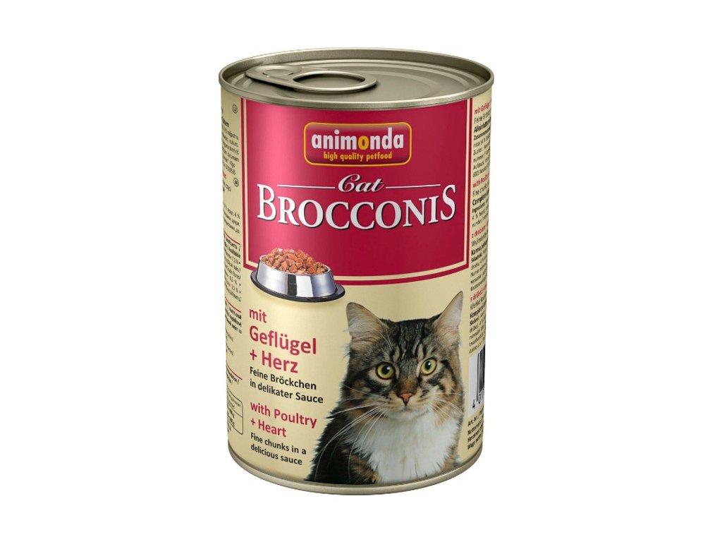 1056 animonda brocconis konzerva pro kocky kure srdce 400g