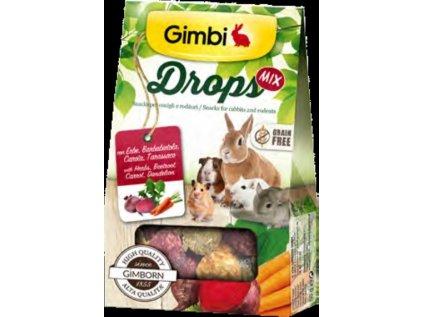 11847 gimborn i drops grain free pro hlodavce mix 50g