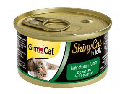 12099 konzerva shiny cat kure s jehnecim 70g