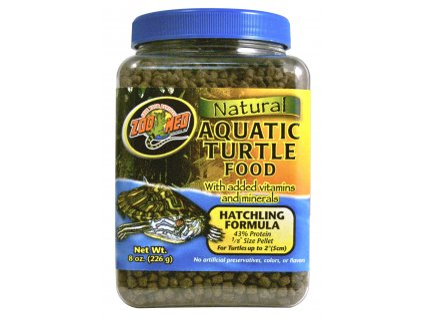 13515 krmivo natural aquatic turtle food pro vodni zelvy micro pellet lihnouci