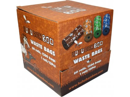 15303 huhubamboo sacky na exkrementy box 80ks bal