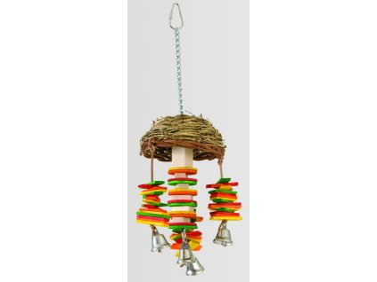 15966 hracka featherland pt basket twister 33cm