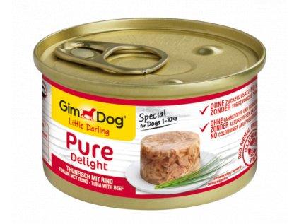 16077 pure delight tunak s hovezim ex shiny dog 70 g