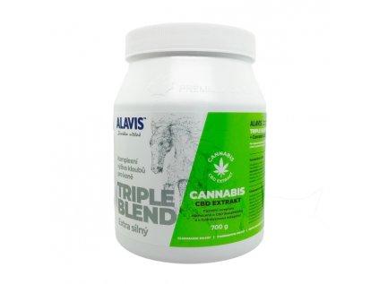 16107 alavis trible blend extra silny cannabis cbd extrakt 700g