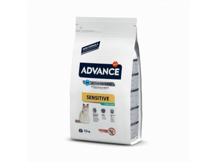 16410 advance cat sterilized sensitive 3kg