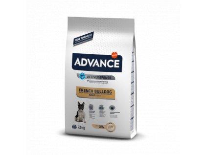 16512 advance dog french bulldog 7 5kg