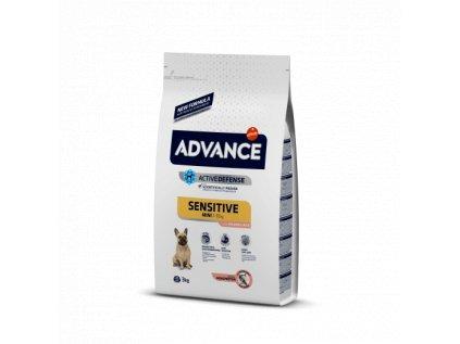 16515 advance dog mini sensitive 7 5kg