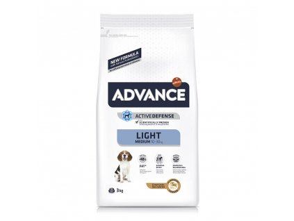16521 advance dog medium light 12kg
