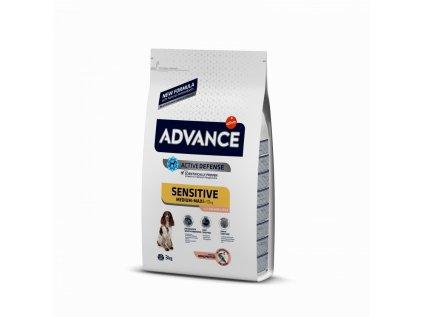 16539 advance dog adult sensitive 12kg