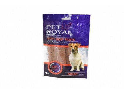16911 pet royal dog soft hovezi nudlicky 75g