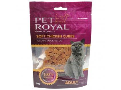 16914 pet royal cat soft kureci kostky 60g