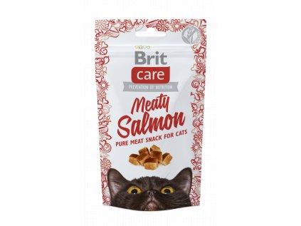 18546 brit care cat snack meaty salmon 50g
