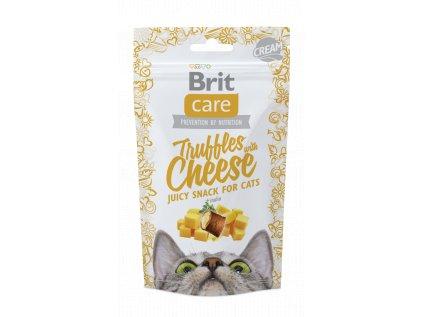 18558 brit care cat snack truffles cheese 50g