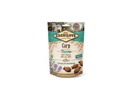 18615 carnilove semi moist snack chicken with thyme 50g