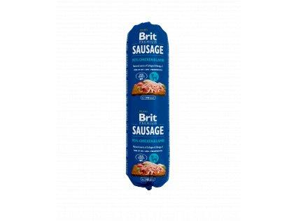 18780 brit sausage chicken lamb 800g