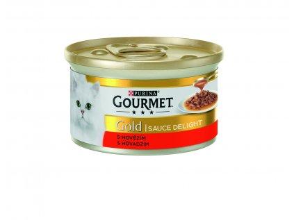 18912 konzerva gourmet gold sauce delights hovezi v omacce 85g