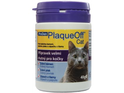 PlaqueOff Cat plv 40g