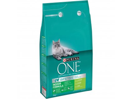 Purina ONE GK BIFENSIS Indoor s krůtou 3kg