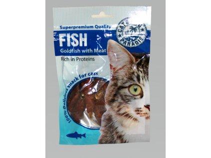 40083 paradise cat rybky s masom 45g